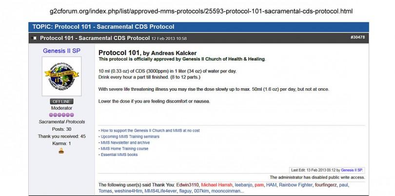 CDS Protocol 101 - MMSFORUM - MMS Forum (G2CFORUM) Jim Humble Master